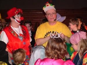 Kinderkarneval mit Pauline